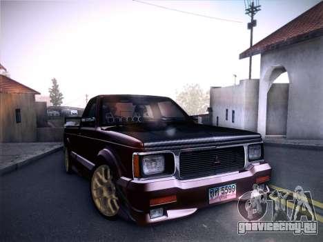 Mitsubishi Cyclone для GTA San Andreas двигатель