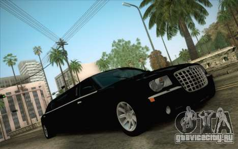 Chrysler 300C Limo 2007 для GTA San Andreas вид изнутри