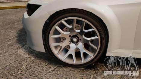 GTA V Zion XS Cabrio [Update] для GTA 4 вид сзади