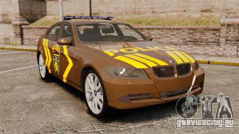 BMW 350i Indonesia Police v2 [ELS] для GTA 4