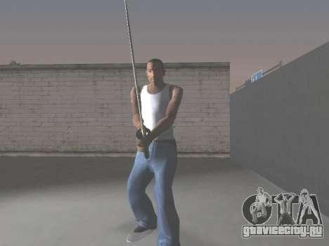 CSO Katana для GTA San Andreas четвёртый скриншот