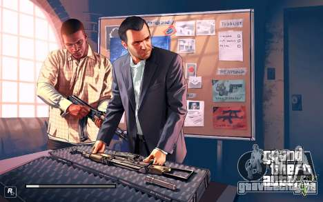 GTA V to SA: LoadScreens для GTA San Andreas четвёртый скриншот