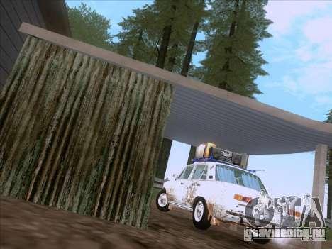 ВАЗ 21011 Дачная для GTA San Andreas вид справа