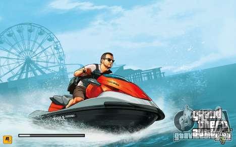 GTA V to SA: LoadScreens для GTA San Andreas шестой скриншот