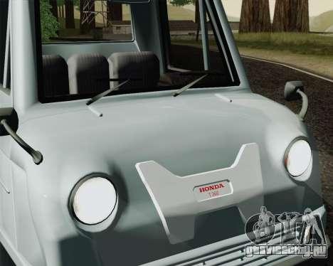 Honda T 360 для GTA San Andreas вид сзади слева