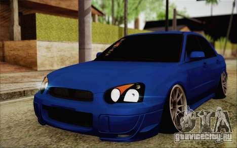Subaru Impreza JDM для GTA San Andreas
