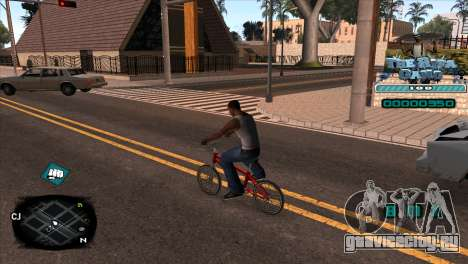 C-HUD Rifa Gang для GTA San Andreas