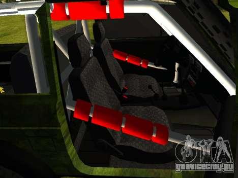 ВАЗ 212140 Охотник для GTA San Andreas вид сзади слева