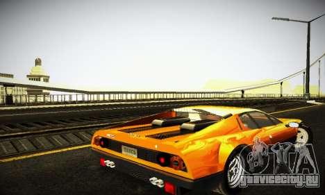 Ferrari 512 BB для GTA San Andreas вид справа