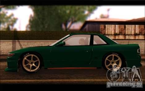 Nissan Silvia Drift для GTA San Andreas вид слева