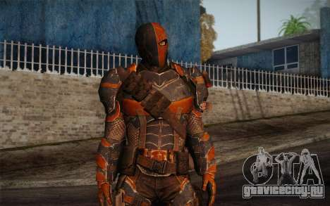 Deathstroke from Batman: Arkham Origins для GTA San Andreas второй скриншот