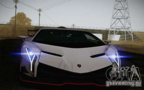 Lamborghini Veneno LP750-4 2013 для GTA San Andreas