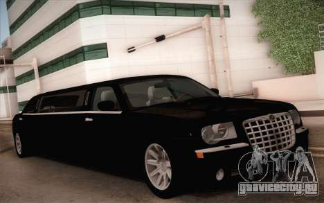 Chrysler 300C Limo 2007 для GTA San Andreas