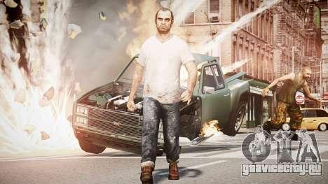 Trevor Fillips from GTA V для GTA 4