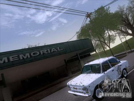 ВАЗ 21011 Дачная для GTA San Andreas вид сверху
