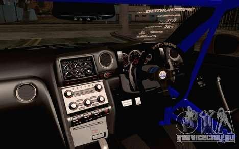 Nissan GT-R Liberty Walk для GTA San Andreas вид справа