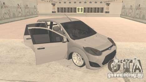 Ford Fiesta Rocam Edit для GTA San Andreas вид слева