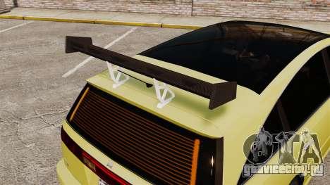 Extreme Spoiler Adder 1.0.7.0 для GTA 4 седьмой скриншот