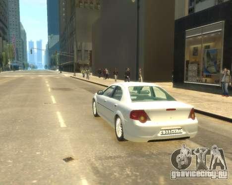 ГАЗ Волга Сайбер для GTA 4 вид слева
