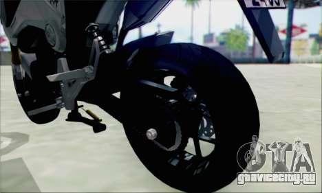 Honda MSX 125 для GTA San Andreas вид справа