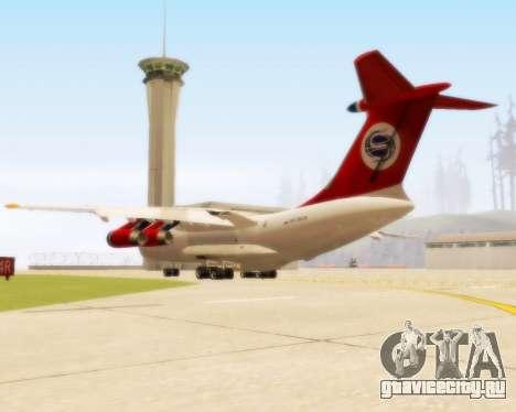 Ил-76ТД Самара для GTA San Andreas вид справа