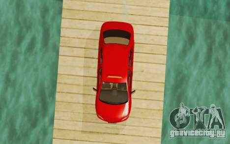 Toyota Vios Taxi Costa Rica для GTA San Andreas вид сзади