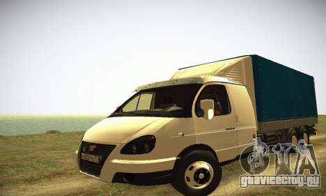 ГАЗель 33023 HEAVY для GTA San Andreas