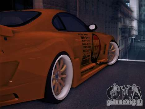 Toyota Supra Top Secret V12 для GTA San Andreas колёса