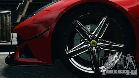 Ferrari F12 Berlinetta 2013 Modified Edition EPM для GTA 4 вид сзади
