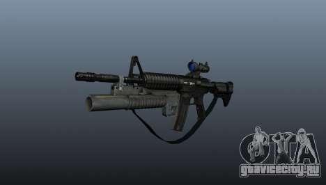 Автоматический карабин M4A1 v2 для GTA 4