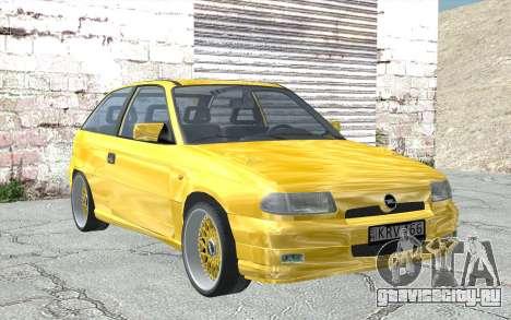 Opel Astra F GSI BBS Style для GTA San Andreas