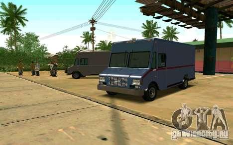 Boxville из GTA 4 для GTA San Andreas
