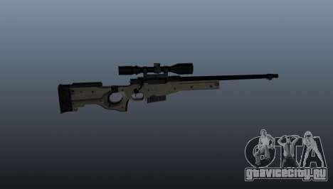 Снайперская винтовка  AI Arctic Warfare Police для GTA 4 третий скриншот