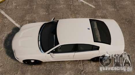 Dodge Charger 2014 для GTA 4 вид справа