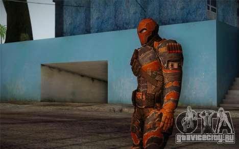 Deathstroke from Batman: Arkham Origins для GTA San Andreas третий скриншот