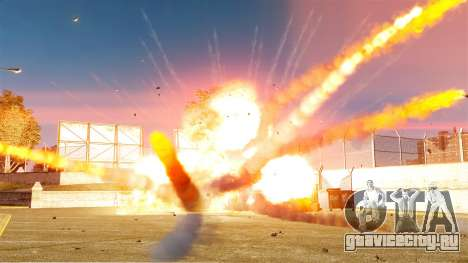 Новая настройка пожаров и взрывов для GTA 4 третий скриншот