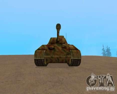 pz.kpfw v Panther для GTA San Andreas вид слева