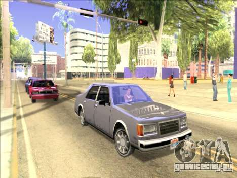 ENB только отражения на машинах для GTA San Andreas третий скриншот