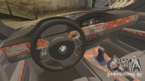 BMW 350i Indonesia Police v2 [ELS] для GTA 4 вид сбоку