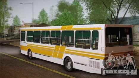 ЛиАЗ 5256.00 Скин-пак 1 для GTA San Andreas вид снизу