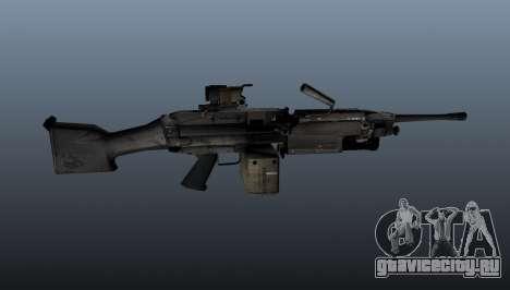 Ручной пулемёт M249 для GTA 4 третий скриншот