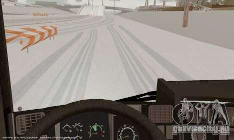 Scania P420 для GTA San Andreas двигатель