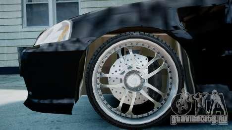 Honda Civic FnF для GTA 4 вид справа