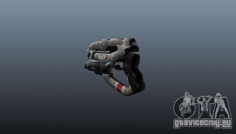 Пистолет N7 Eagle для GTA 4 второй скриншот
