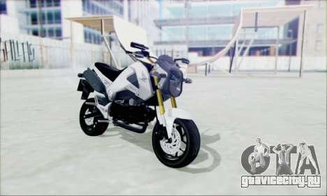 Honda MSX 125 для GTA San Andreas