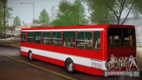 ЛиАЗ 5256.00 Скин-пак 1 для GTA San Andreas вид сзади