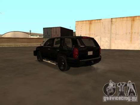 GMC Yukon ATTF для GTA San Andreas вид справа