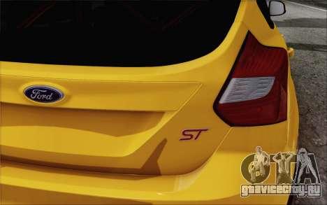 Ford Focus ST для GTA San Andreas вид справа