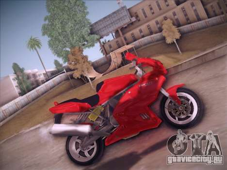 Ducati Supersport 1000 DS для GTA San Andreas вид слева
