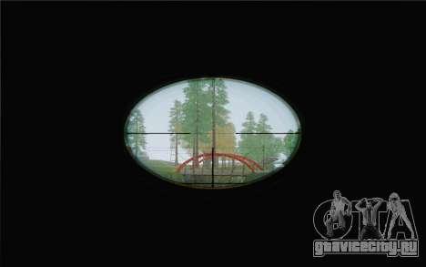 Enhanced Sniper Scope v1.1 для GTA San Andreas